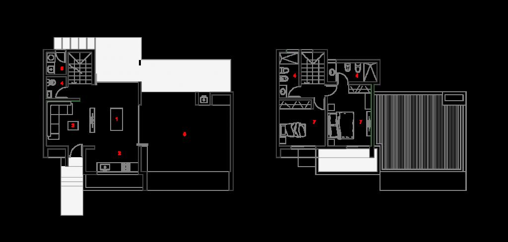 plano arquitectura estandarq mora