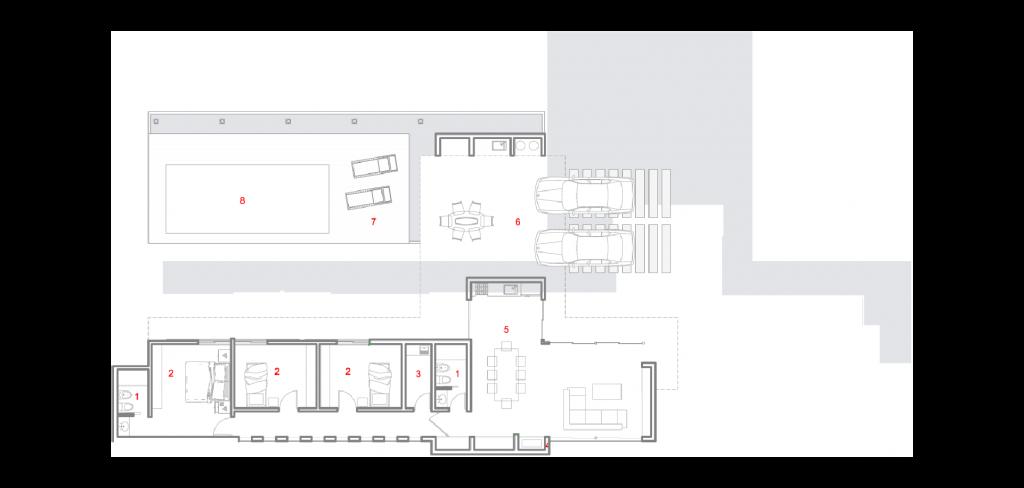 plano palmas estandarq arquitectura